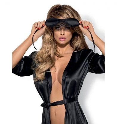 Satinia Mask Color Negra