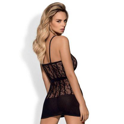 Obsessive D605 Dress Black