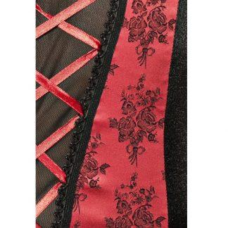 Passion Rumba Corset Negro Y Rojo