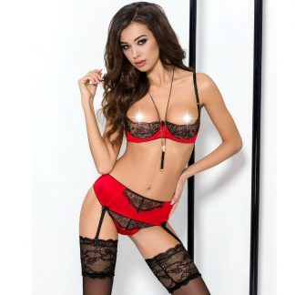 Passion Brida Set 3pcs Rojo