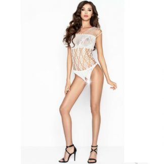 Passion Body Blanco Fishnet Talla Unica
