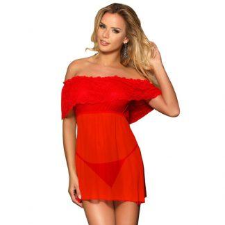 Subblime Vestido Corto + Tanga Rojo