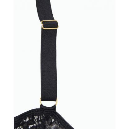 Subblime Corset Negro Con Cinturon
