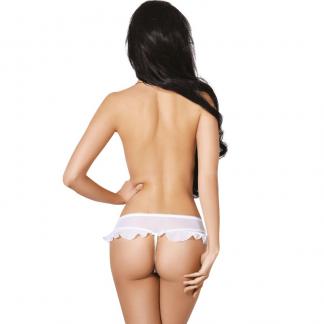 Le Frivole – 04337 Panties Blanco Con Abertura