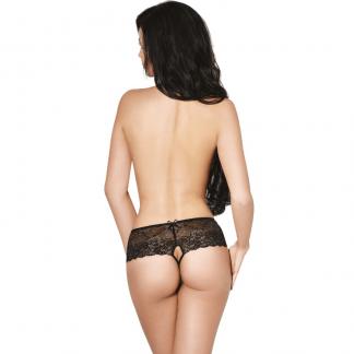Le Frivole – 04341 Panties Con Abertura Negro
