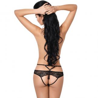 Le Frivole – 04342 Panties Con Abertura Negro