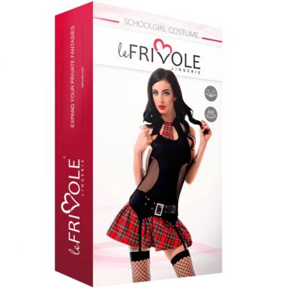 Le Frivole – 02272 Disfraz Colegiala Sexy Dos Piezas