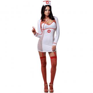 Le Frivole – 02796 Disfraz Enfermera 5 Piezas