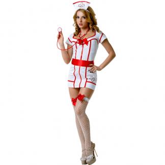 Le Frivole – 02896 Disfraz Enfermera 4 Piezas