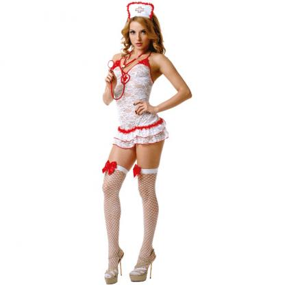 Le Frivole – 02893 Disfraz Enfermera 4 Piezas