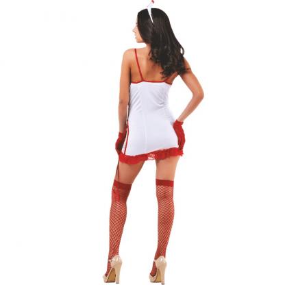 Le Frivole – 02541 Disfraz Enfermera 4 Piezas