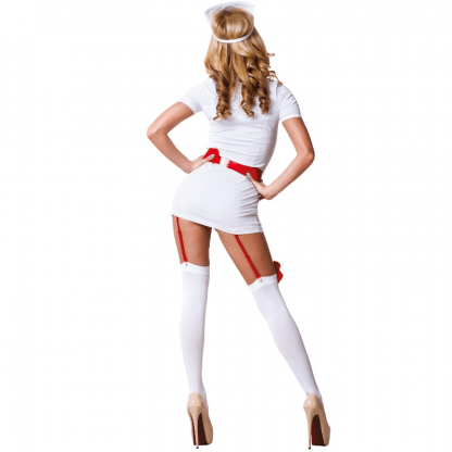 Le Frivole – 02210 Disfraz Enfermera 3 Piezas