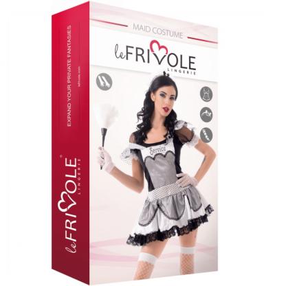 Le Frivole – 02908 Disfraz Sirvienta 4 Piezas S/M