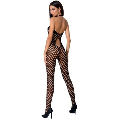 Passion Woman Bs065 Bodystocking Blanco Talla Unica