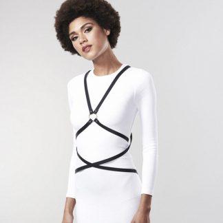 Bijoux Indiscrets Maze Arnes Multiposicion – Negro