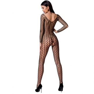 Passion Woman BS068 Bodystocking Rojo Talla Unica