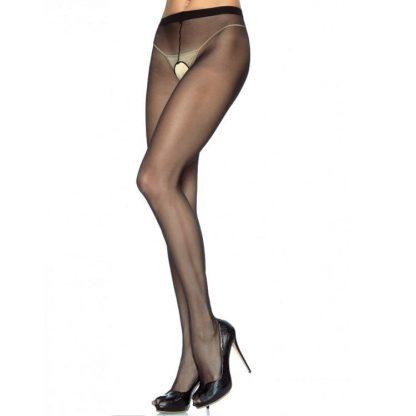 Leg Avenue Panties De Nylon Con Abertura En La Entrepierna Plus Tallas Grandes