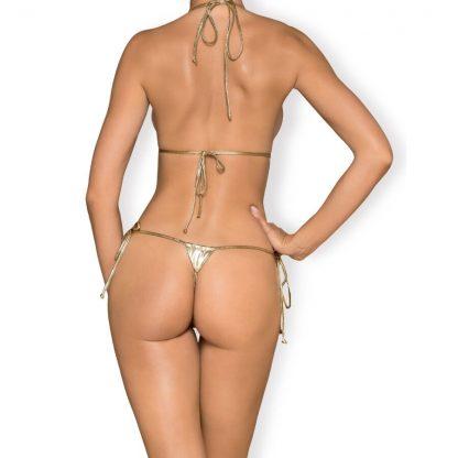 Obsessive – Bella Vista Micro Bikini Dorado Talla Unica
