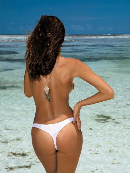 Marko – Tanga de bikini 82247 Blanco