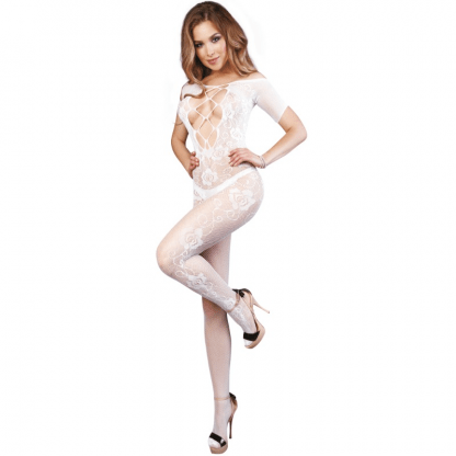 Le Frivole – 04502 Bodystocking Blanco S/L