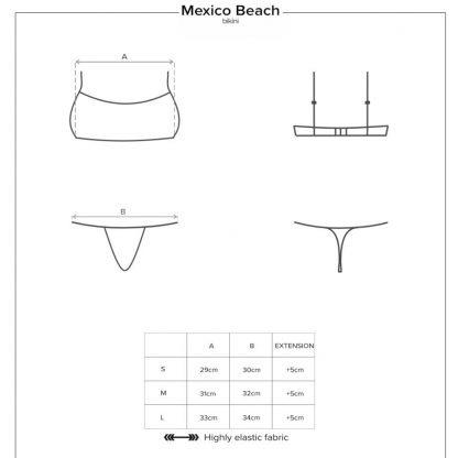 Obsessive – Mexico Beach Bikini Verde
