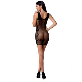 Passion Woman Bs073 Bodystocking Talla Unica Negro