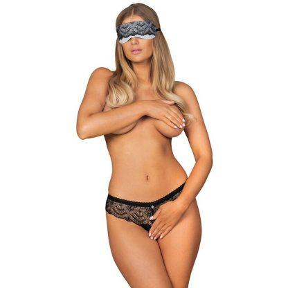 Obsessive – Firella Set Antifaz Y Panties Con Abertura