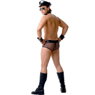 Le Frivole – Disfraz Policia Hombre 4 Piezas L
