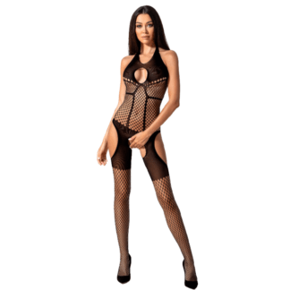 Passion Woman Bs079 Bodystocking – Negro Talla Unica